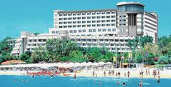 All inclusive-hotellet Melas resort ligger vid stranden i Side, Turkiet.